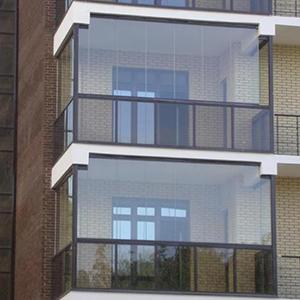 Остекление балкона для дома серии П-44М