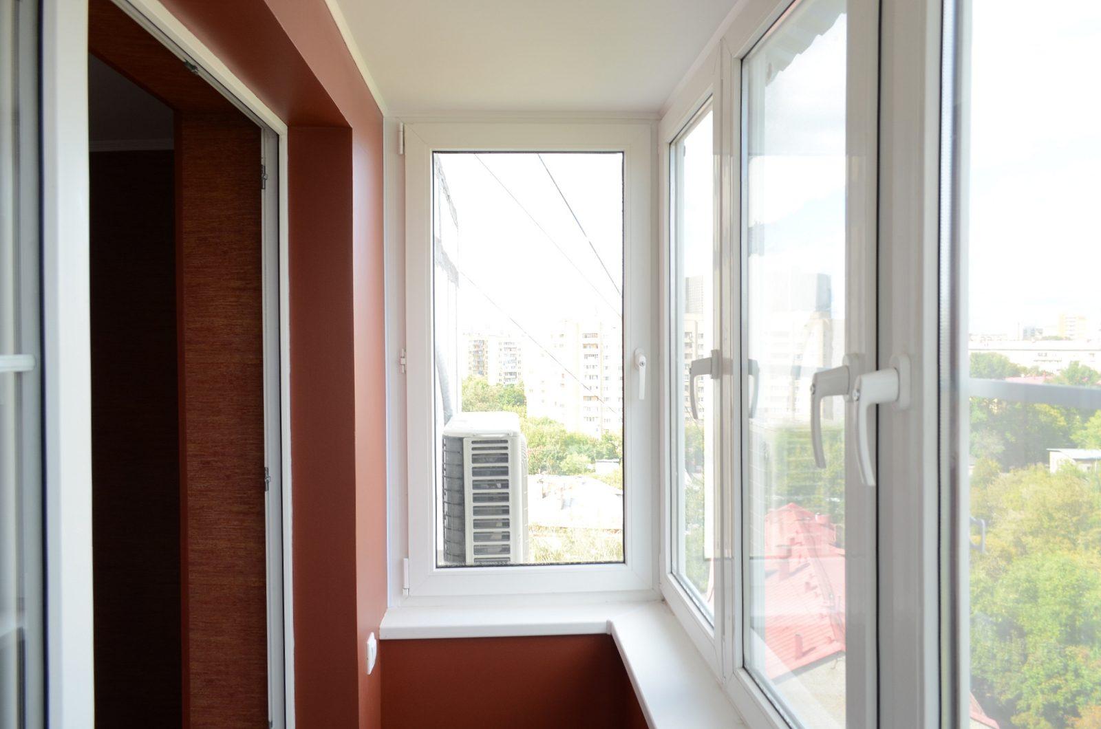 Окна ПВХ для балкона